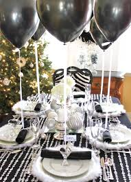 ideas fabulous black new years eve party decorations ideas with