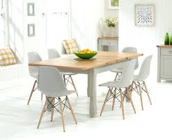 Oak Furniture Dining Tables Eames Dining Chair With Glass Table Eames Chair Dining Table Ethan