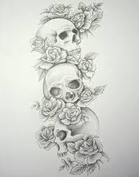 moon rose heart dagger skull tattoo designs in 2017 real photo