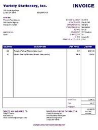 Billing Template Excel Invoice Template Excel Invoice Exle