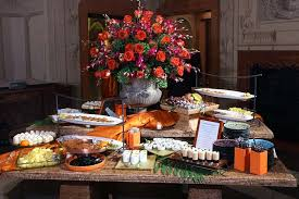 Buffet Set Up by Occasions Caterers Set Up An Elaborate Dessert Buffet In A