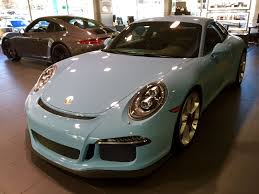 2 gt3 color poll page 9 rennlist porsche discussion forums another pts story customer orders golf blue and gets