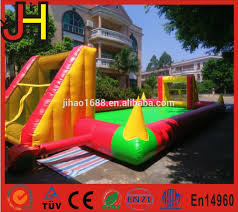 inflatable soap football field inflatable soap football field