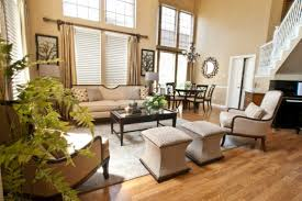 how to decorate formal living room with cream color theme ideas