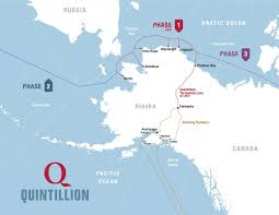 Gulf Of Alaska Map New North Slope Fiber Optic Cable System To Turbocharge North