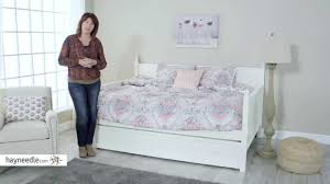 belham living casey daybed white full product review video