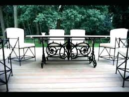 wrought iron outdoor furniture clearance patio metal sets used cast