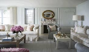 antique shabby chic living room furniture cream striped pattern