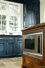 navy kitchen cabinet paint color home bunch