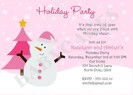 make your own party invitation holiday party invite wording marialonghi com