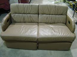 Used Rv Sofa by Rv Parts Used Rv Furniture For Sale Leather Sofa Jack Knife Flip
