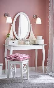 Small Vanity Table Ikea The Hemnes Dressing Table A Place To Take A Few Minutes For