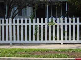 picket fences routed picket fence panel u2013 vinyl craft