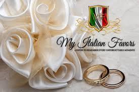 italian favors italian wedding favors communion favors confetti flowers