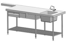 Stainless Steel Sinks Sink Benches Commercial Kitchen Custom Stainless Steel Design Commercial Restaurant Kitchen