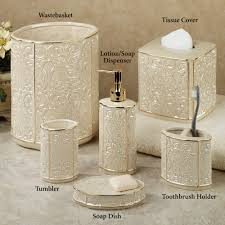 Small Waste Basket by Silver And Gold Bathroom Accessories Bathroom Decor