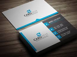professional business cards free modern professional business card