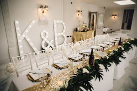 wedding backdrop letters wedding at lemore manor with green fern travel decor