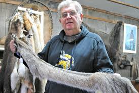 Deer Hide Tanning Companies Buck Breaks Into Minnesota Fur Company Drying Deer Hides Wreaks