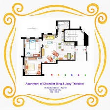 seinfeld apartment floor plan 10 floor plans of the most famous tv apartments in the world