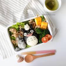 cuisine kawaii kawaii totoro bento miss bento