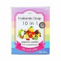 Sabun Indo best review of wink white fruitamin soap 10 in 1 100gr gratis