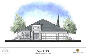 Avalon Floor Plan by Avalon Dream Finders Homes