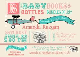 airplane vintage baby shower invitation kustom kreations