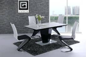black and white dining room ideas black and white dining table enthralling black and white dining room