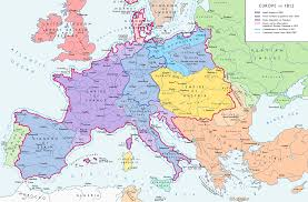 Labeled Map Of Europe by File Europe 1812 Map En Png Wikimedia Commons