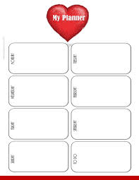 to do planner template weekly planner printable weekly planner template with a white background and a red heart simple minimalistic design