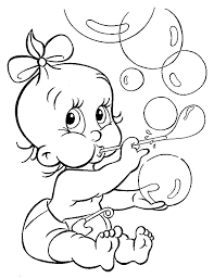 baby shower coloring pages kids coloring