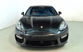 porsche panamera 2016 black 2016 porsche panamera exclusive turbo executive for sale in