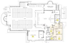 Church Fellowship Hall Floor Plans All Saints By The Sea Sanctuary Renovation Project Parent