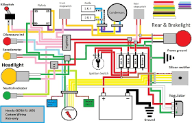 honda 125 motorcycle wiring diagram wiring diagram and schematic