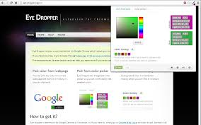 eye dropper chrome web store
