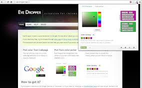 Eye Dropper Chrome Web Store Web Page Color Picker