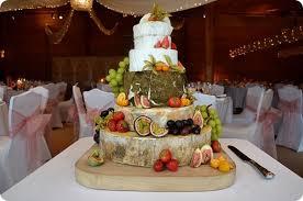 wedding cake made of cheese cake made of cheese swiss cheeses