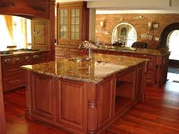 Kitchen Countertop Material by Fancy Design Ideas Using Cream Glass Tile Backsplash And L Shaped