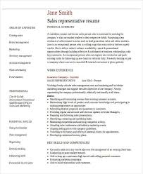 32 sales resume samples free u0026 premium templates