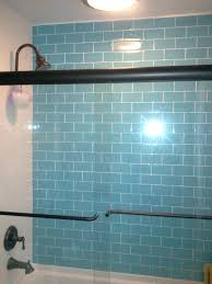 tileglass tile bathroom floor ideas sea glass shower laferida