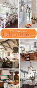 ideas for kitchen lighting 30 awesome kitchen lighting ideas 2017
