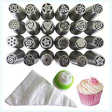 russian piping tips for cake baking supplies professional