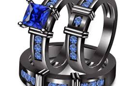 his and hers black wedding rings wedding rings his and wedding ring sets beguile his and
