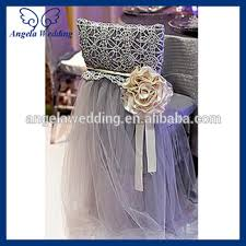 fancy chair covers ch019a hot sale fancy wedding ruffled cheap tutu tulle chair