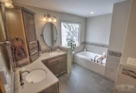 updated bathroom ideas bathroom southwestern remodeling wichita master bathroom updated