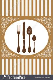 templates menu of restaurant card vector stock illustration