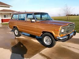 jeep amc 1982 jeep wagoneer sj