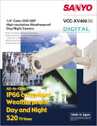 download free pdf for sanyo vcc 4594 security camera manual
