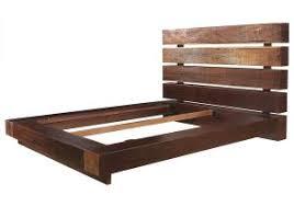 wood platform bed frame queen hudson upholstered 15 inspiring
